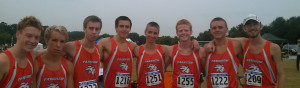 Cross Country teams run for 1st place at River Green Park