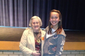 Holocaust survivor visits Parkview