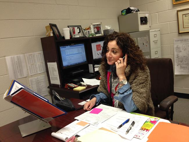 Mrs. Bronnum, Parkview's New AP