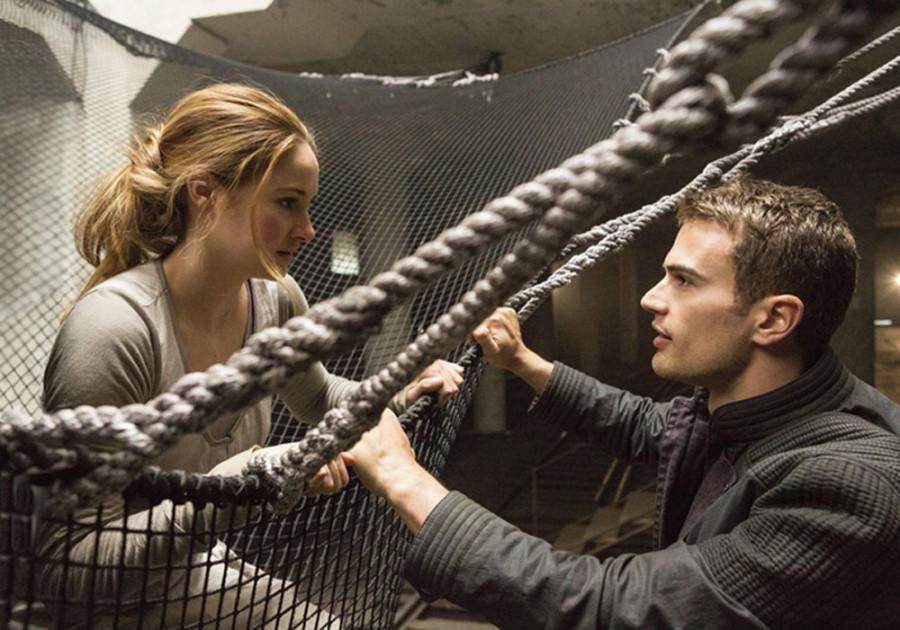 Shailene Woodley (left) and Theo James star in