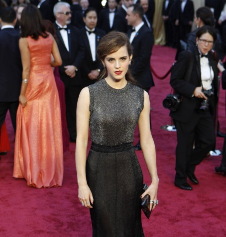 Emma Watson at the 86th Annual Academy Awards.