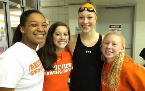 Parkview girls cheered each other on until the end.