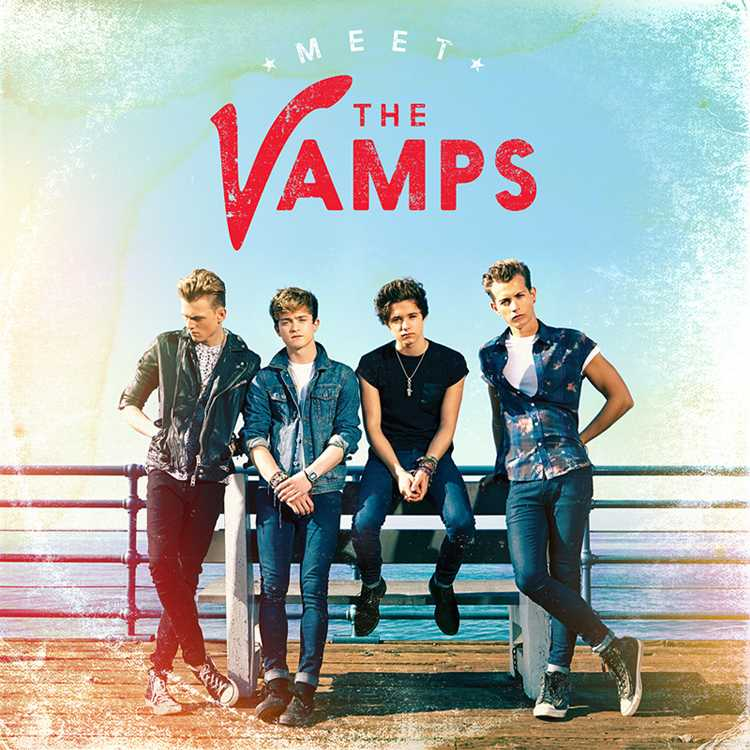 The Vamps' album cover
