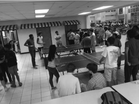 Ping pong bounces back into popularity