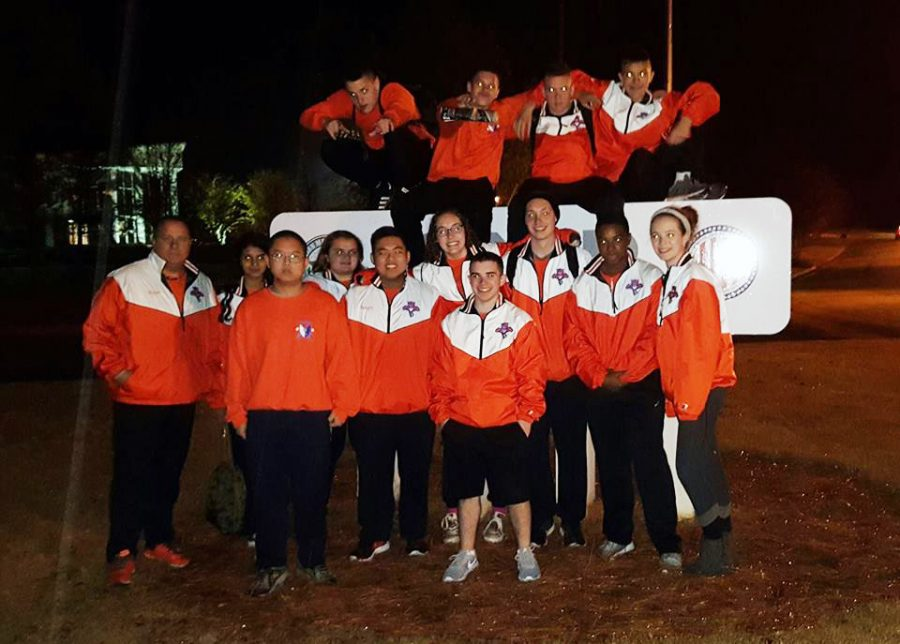 The+rifle+team+kicked+off+their+year+at+the+Gary+Anderson+Tournament+in+Anniston%2C+AL.+%28Photo+Courtesy+of+Dana+Gallagher%29