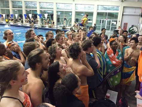 The swim team dives into the new season