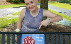 Katie Rutherford faces cancer like a superhero