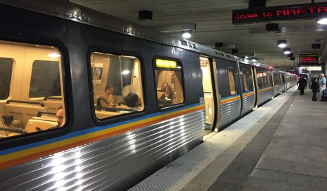 MARTA Train Station  Photograph by Myrydd Wells