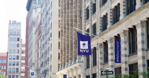 The edifice of New York University