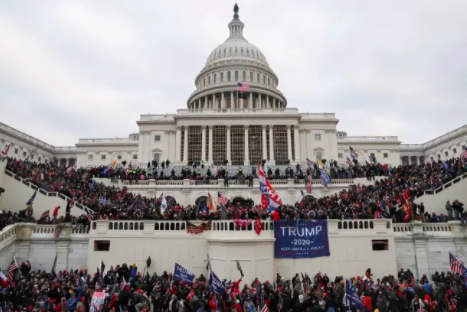 Photo of January 6th Riots at the US Capitol  Courtesy of TribuneOnlineEng.com