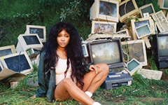 Cover art for SZA's album