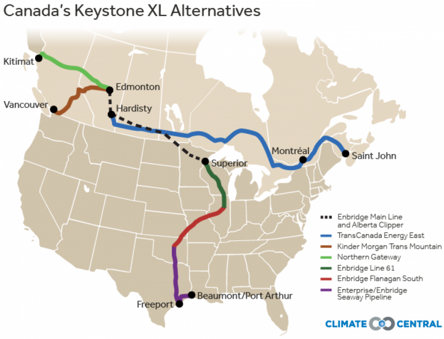 Canada takes another approach to Keystone XL (Photo courtesy of ClimateCentral).