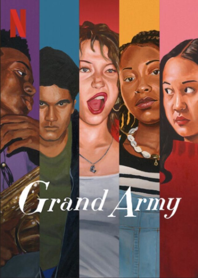 Grand Army Netflix cover (Photo courtesy of IMDbPro).