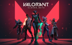 One of Valorant's logos (photo courtesy of playvalorant.com).