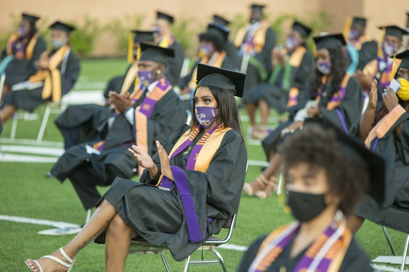The pandemic's effects will continue to impress on the next generation of graduating students (photo courtesy of NPR).