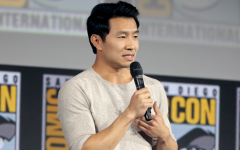 Simu Liu speaking at the 2019 San Diego Comic-Con International, for Shang-Chi and the Legend of the Ten Rings, at the San Diego Convention Center in San Diego, California.                       Photo Taken